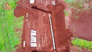 Dự án đang dần hoàn thiện công trình tuyến ống cấp nước TTTM Lộc Ninh 4